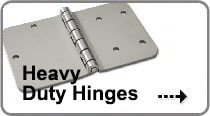 Image of Heavy Duty Hinges that links to a detailed overview of our Heavy Duty Hinges we offer.