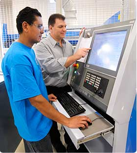 S&D Specialists using state of the art equipment to create precise Metal Stamping