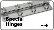 Image of Special Hinges that links to a page that details our Special Hinge options.